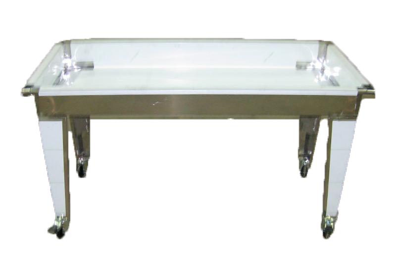 TABLE D'EGOUTTAGE avec pieds - H 10 cm