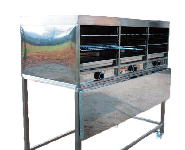 grill-infrarouge-inox