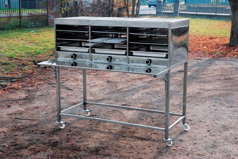 grill gaz inox