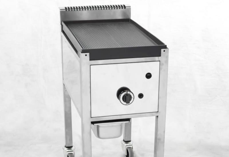 grill gaz street food inox 1 plaque