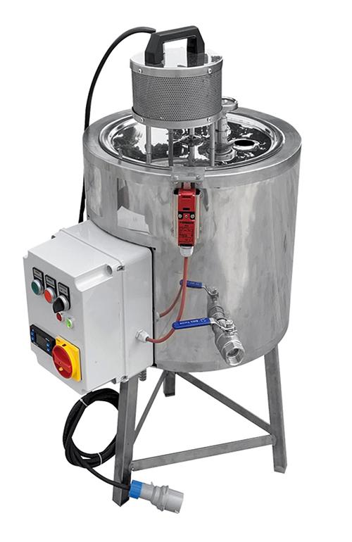 CUVE INOX SAVONS et COSMÉTIQUES 25 litres